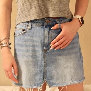 BDG Urban Outfitters Denim Mini Off Skirt